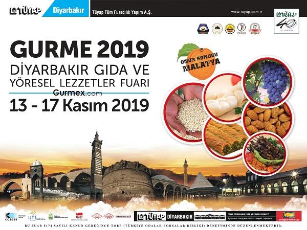 Gurme 2019 Diyarbakır Gıda ve Yöresel Lezzetler Fuarı