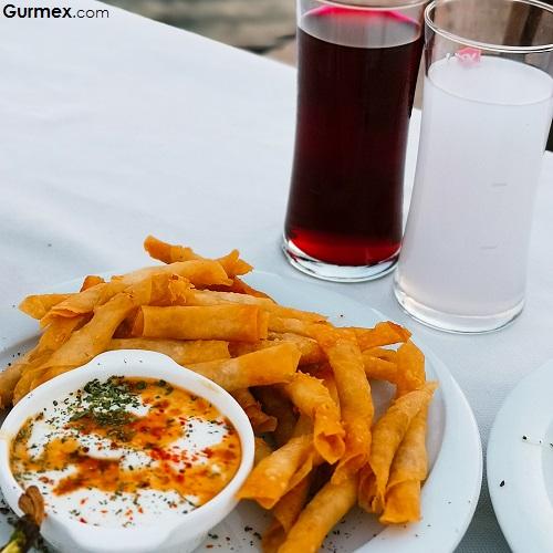 Karides mantı Bacca Restaurant