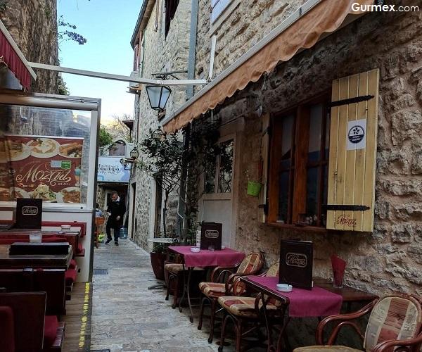 Mozart Restaurant Budva'da ne yenir