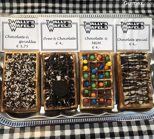 waffle Amsterdam Sokak Lezzetleri