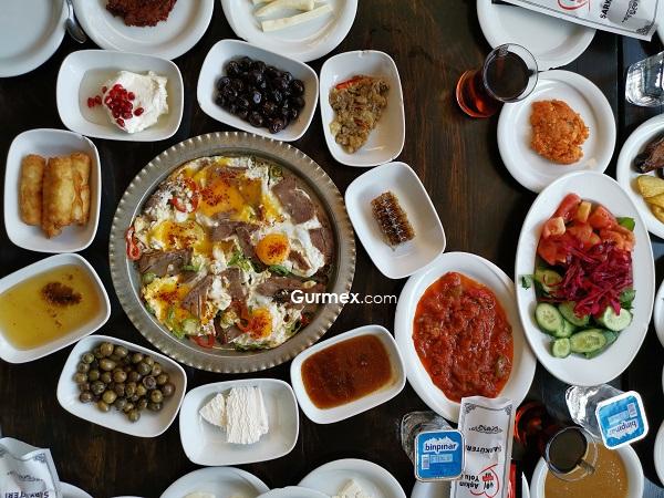 Yöresel Diyarbakır kahvaltısı